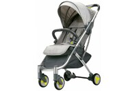 Детская коляска трансформер Xiaomi BEBEHOO START Lightweight Four-wheeled Stroller Grey